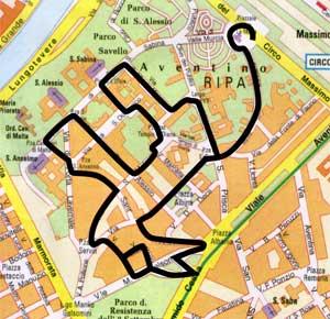 severdigheter i roma kart Norsk Kartozoologisk Forening severdigheter i roma kart